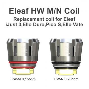Eleaf iJust 3 Duro HW-M HW-N Coils