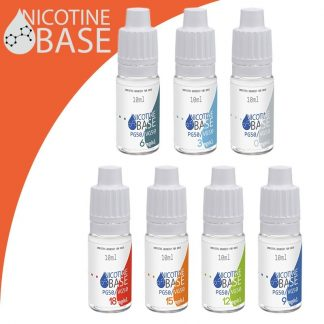 10ml Nikotin Base PG50/VG50
